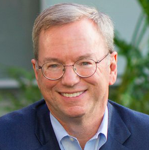 Eric Schmidt, Former Executive Chairman, Google and Alphabet