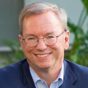 Eric Schmidt, Former Executive Chairman, Google and Alphabet